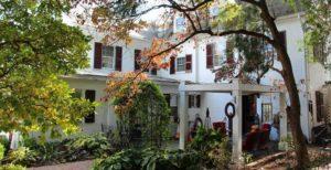 Garden Area of 1777 Americana Inn
