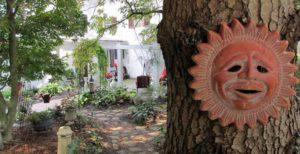 Pathway to 1777 Americana Inn