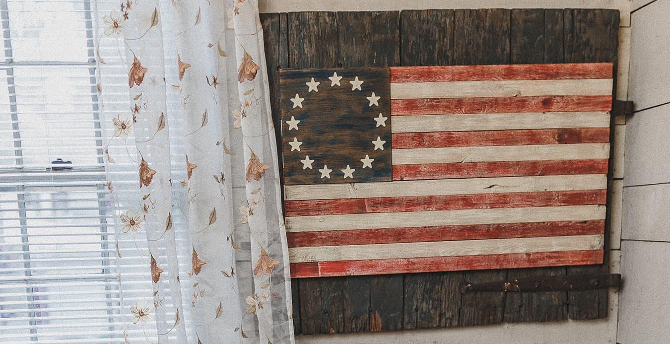 Vintage American Art at 1777 American Inn