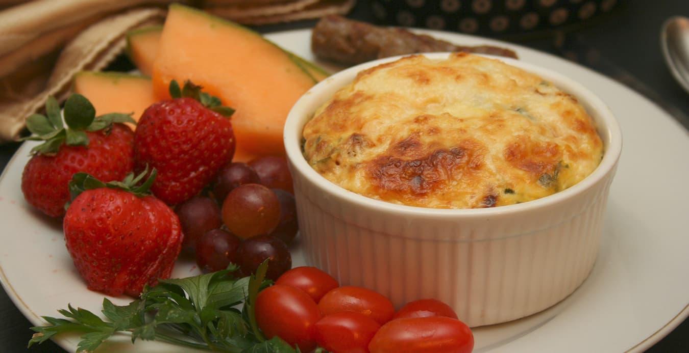Warm Breakfast at 1777 American Inn